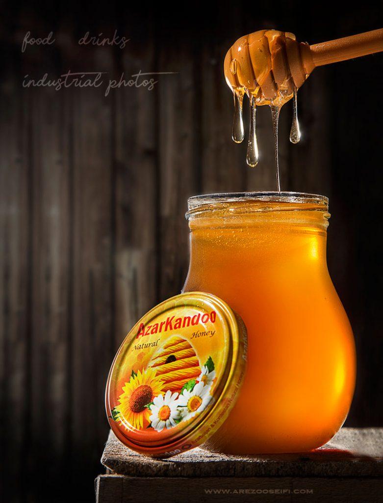 عسل.صبحانه.عکاسی مواد غذایی.عکاسی صنعتی.ارزوسیفی . honey