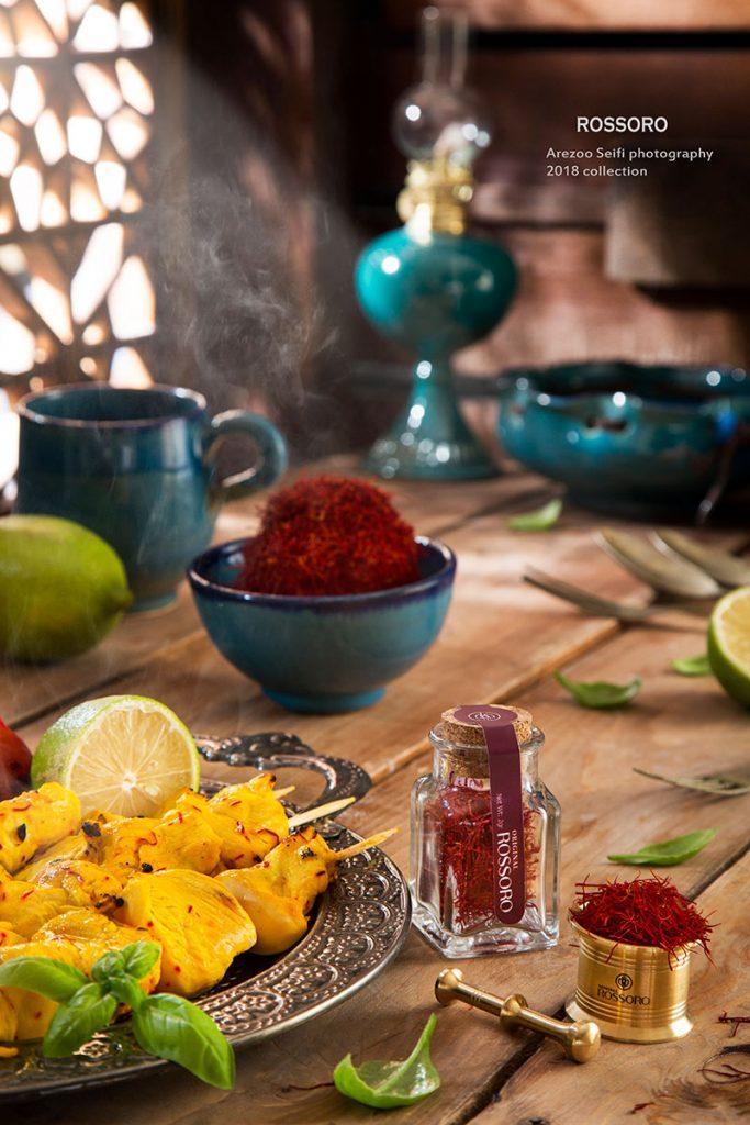 زعفران.غذا.پلوزعفرونی.food.عکاسی موادغذایی.ارزوسیفی.arezooseifi